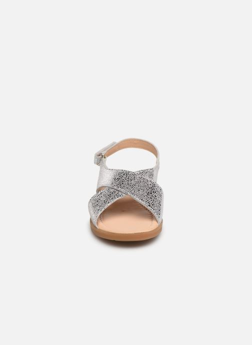 Sandales et nu-pieds Conguitos Ambrosia Argent vue portées chaussures