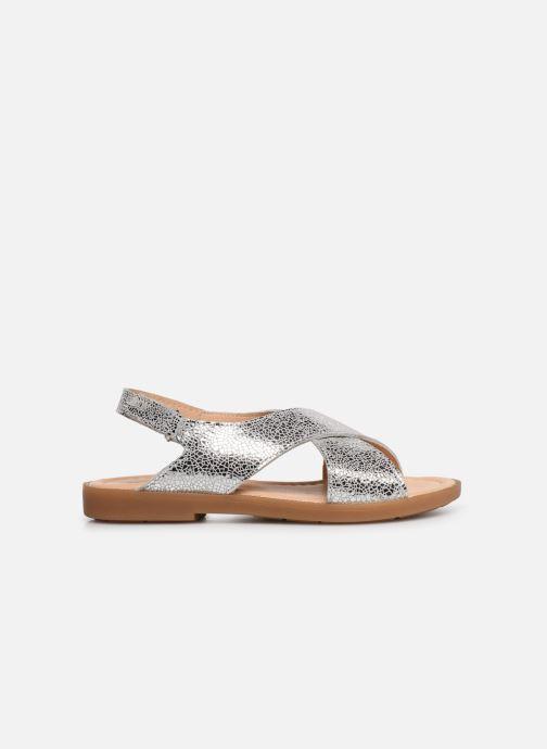Sandales et nu-pieds Conguitos Ambrosia Argent vue derrière