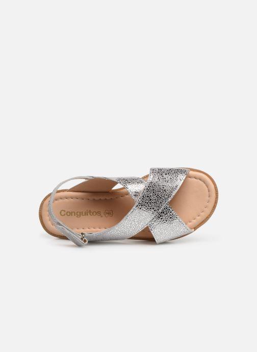 Sandales et nu-pieds Conguitos Ambrosia Argent vue gauche