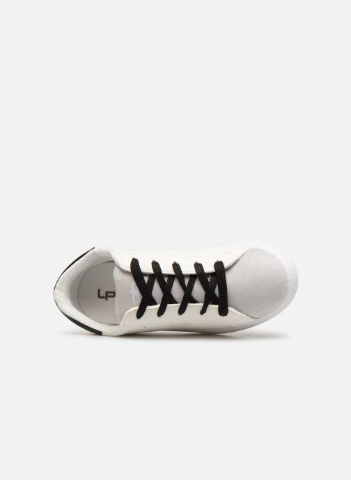 Sneaker Les P'tites Bombes ABIGAEL weiß ansicht von links
