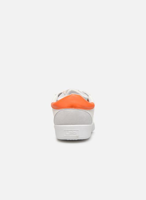 Sneaker Les P'tites Bombes ABIGAEL weiß ansicht von rechts