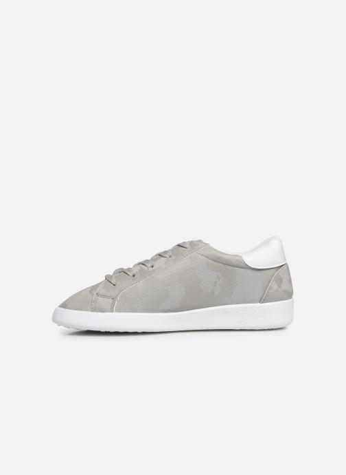 Sneaker Les P'tites Bombes ADELE grau ansicht von vorne