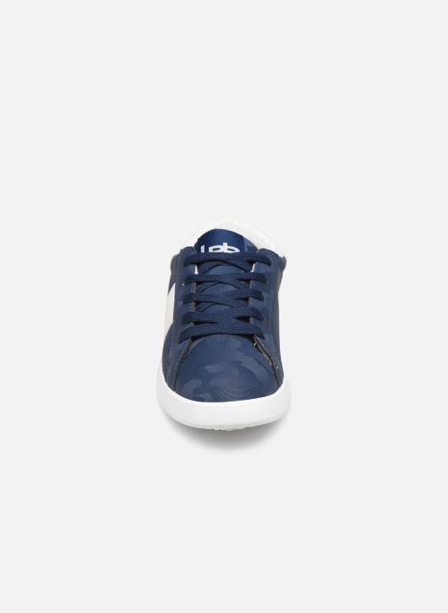 Sneaker Les P'tites Bombes ADELE blau schuhe getragen