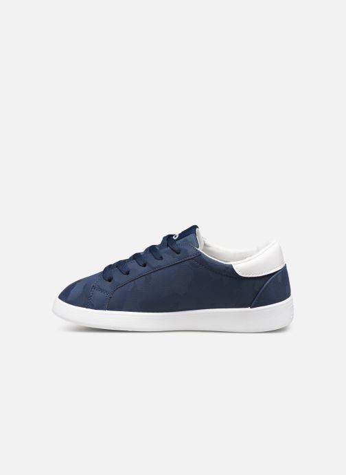 Sneaker Les P'tites Bombes ADELE blau ansicht von vorne