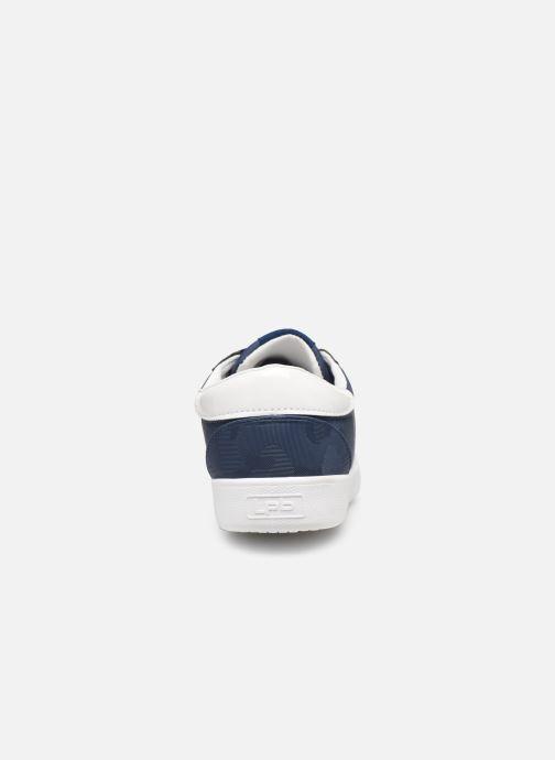 Sneaker Les P'tites Bombes ADELE blau ansicht von rechts