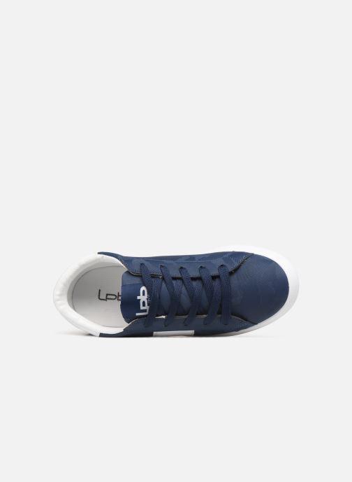 Sneaker Les P'tites Bombes ADELE blau ansicht von links