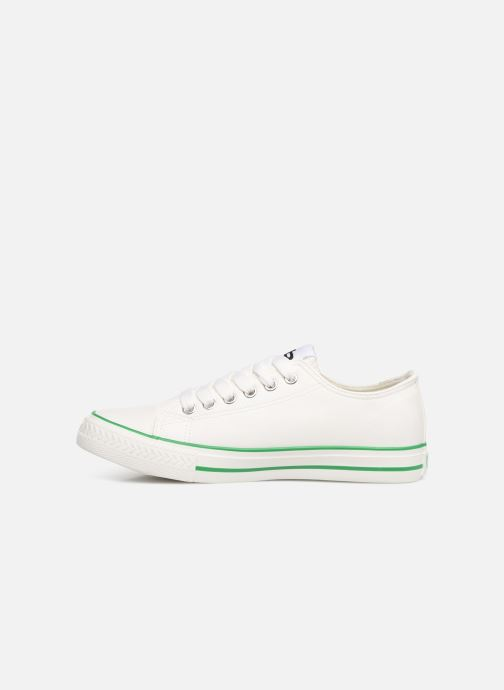 Trainers Les P'tites Bombes ANGY White front view