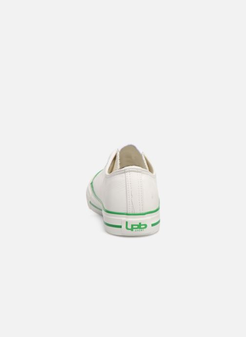 Trainers Les P'tites Bombes ANGY White view from the right
