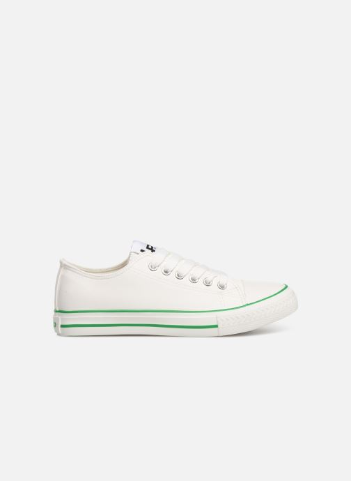 Trainers Les P'tites Bombes ANGY White back view