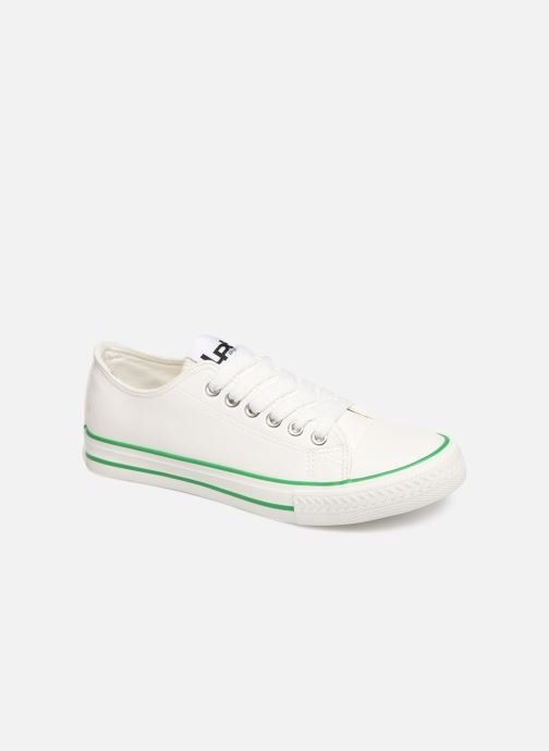 Trainers Les P'tites Bombes ANGY White detailed view/ Pair view
