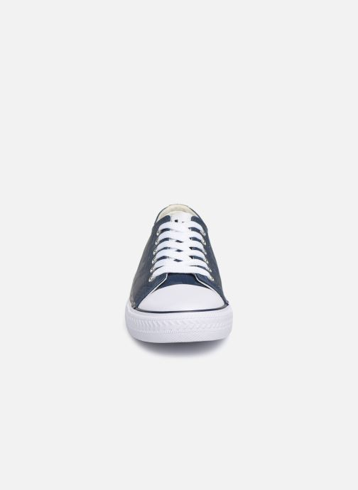 Trainers Les P'tites Bombes ANGY Blue model view