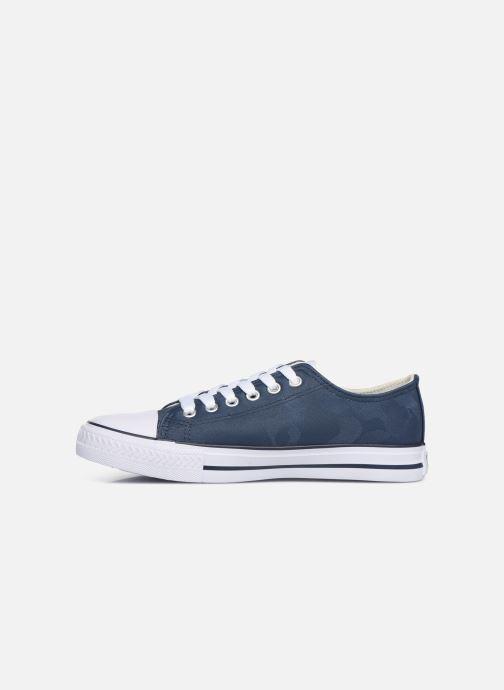 Sneaker Les P'tites Bombes ANGY blau ansicht von vorne