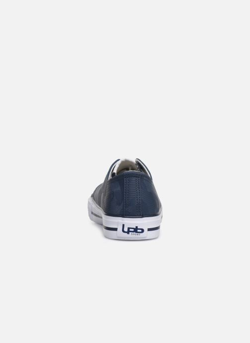 Trainers Les P'tites Bombes ANGY Blue view from the right