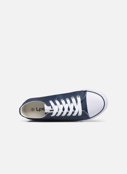Sneaker Les P'tites Bombes ANGY blau ansicht von links