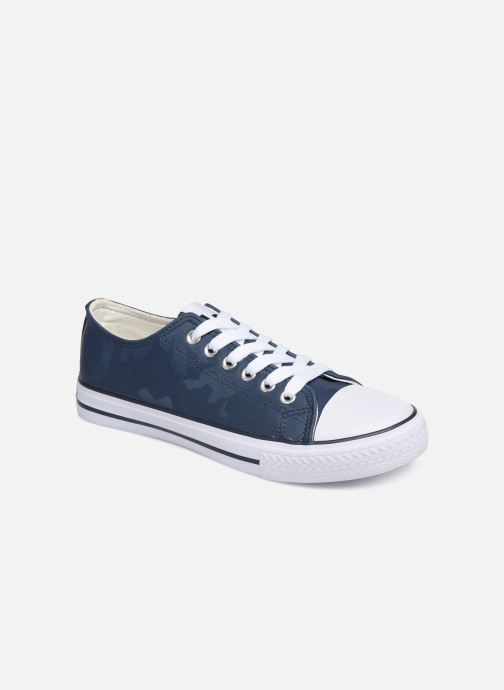 Trainers Les P'tites Bombes ANGY Blue detailed view/ Pair view