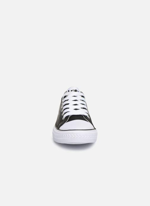Baskets Les P'tites Bombes ANGY Noir vue portées chaussures