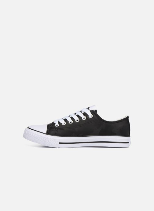 Trainers Les P'tites Bombes ANGY Black front view