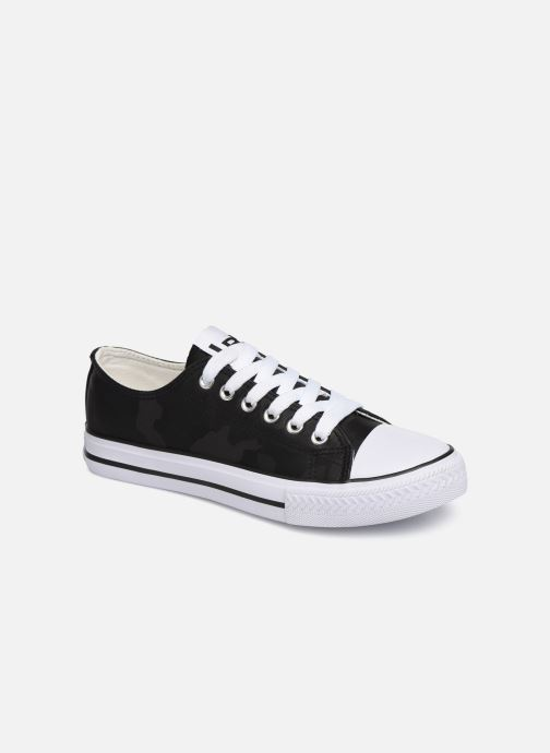 Trainers Les P'tites Bombes ANGY Black detailed view/ Pair view
