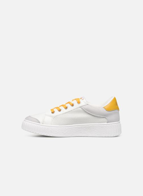 Trainers Les P'tites Bombes ANJA White front view