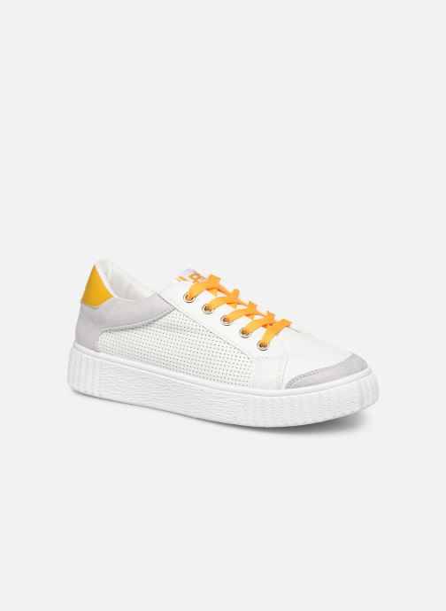Trainers Les P'tites Bombes ANJA White detailed view/ Pair view