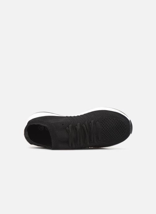 Sneaker Les P'tites Bombes BETTY schwarz ansicht von links