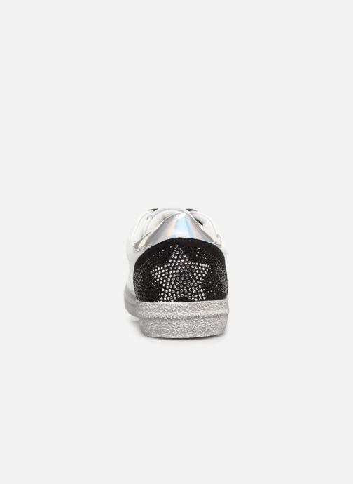Sneaker Les P'tites Bombes DAISY weiß ansicht von rechts