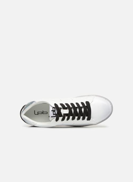 Sneaker Les P'tites Bombes DAISY weiß ansicht von links