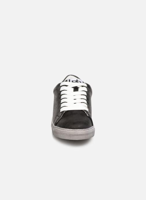 Baskets Les P'tites Bombes DAISY Noir vue portées chaussures