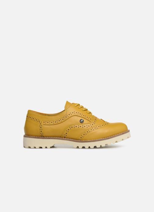 Chaussures à lacets Les P'tites Bombes GISELE Jaune vue derrière
