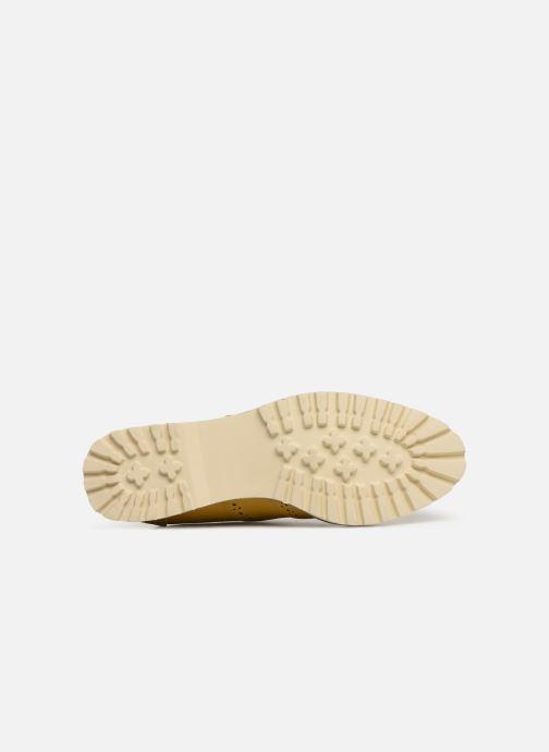 Chaussures à lacets Les P'tites Bombes GISELE Jaune vue haut