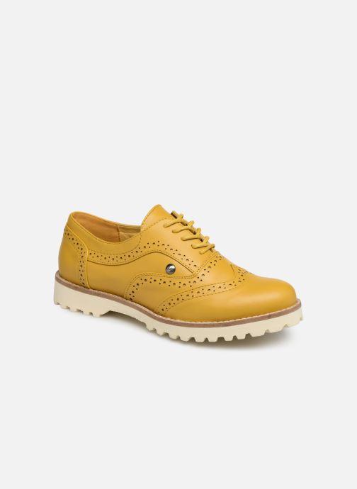 Chaussures à lacets Les P'tites Bombes GISELE Jaune vue détail/paire