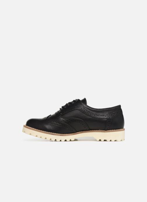 Chaussures à lacets Les P'tites Bombes GISELE Noir vue face