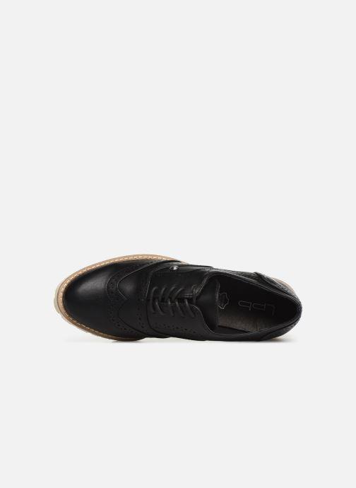 Chaussures à lacets Les P'tites Bombes GISELE Noir vue gauche
