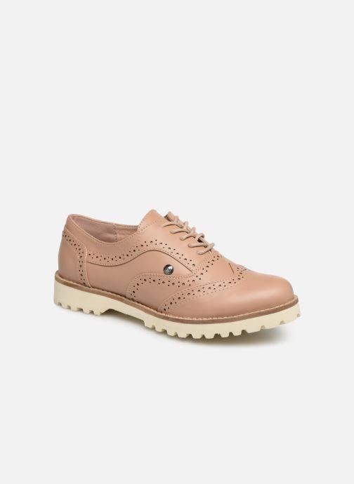 Chaussures à lacets Les P'tites Bombes GISELE Beige vue détail/paire