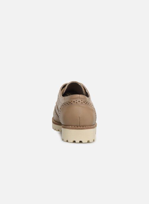 Zapatos con cordones Les P'tites Bombes GISELE Marrón vista lateral derecha