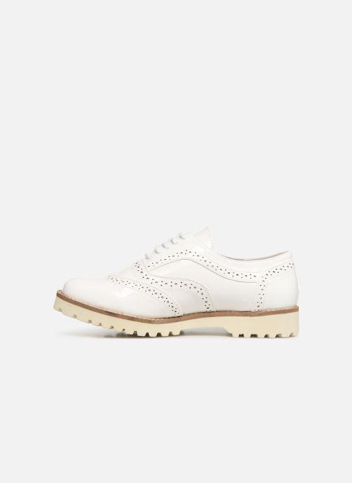 Chaussures à lacets Les P'tites Bombes GISELE Blanc vue face