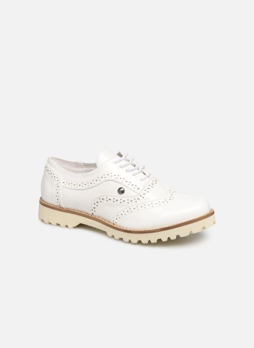Chaussures à lacets Les P'tites Bombes GISELE Blanc vue détail/paire