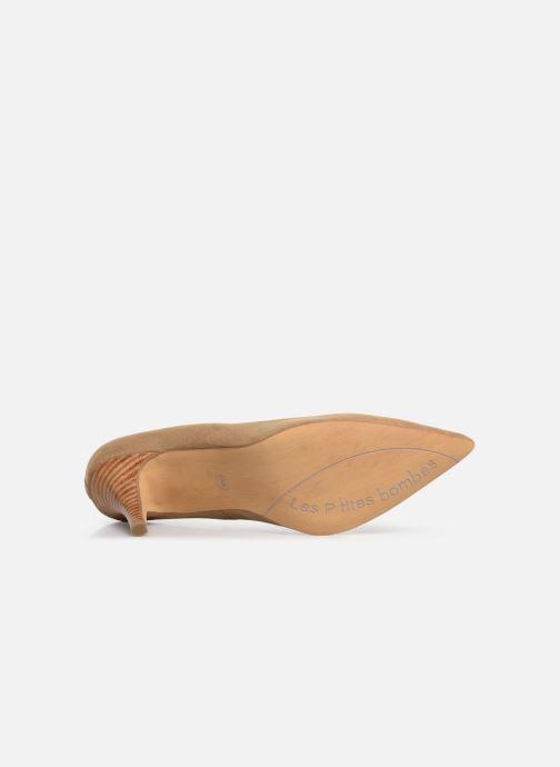 Zapatos de tacón Les P'tites Bombes ISABELLE Beige vista de arriba