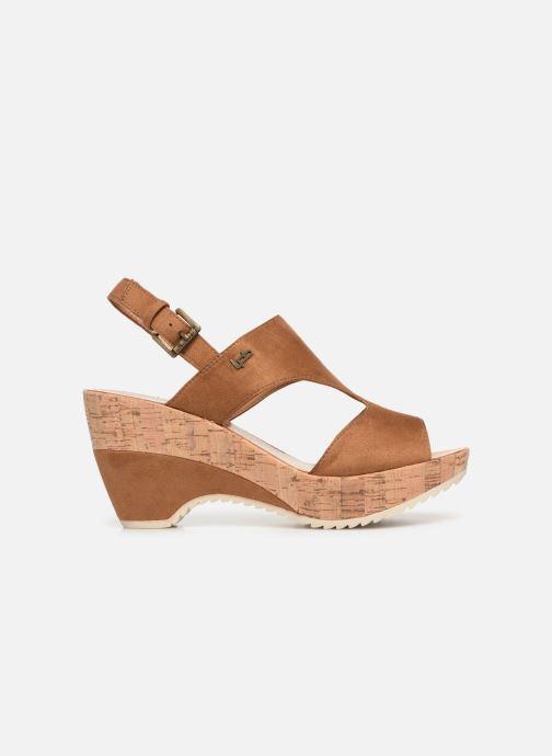 Sandales et nu-pieds Les P'tites Bombes JACINTHE Marron vue derrière