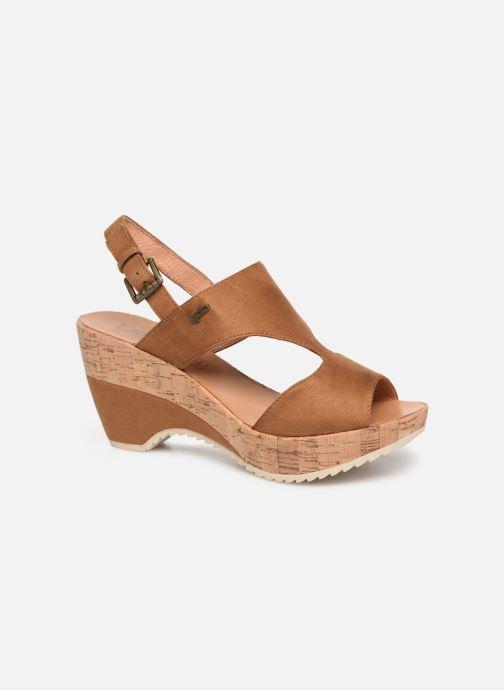 Sandaler Les P'tites Bombes JACINTHE Brun detaljeret billede af skoene