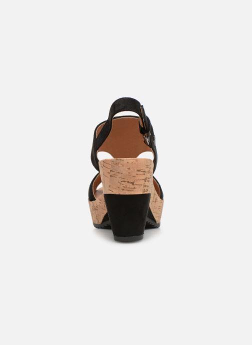 Sandales et nu-pieds Les P'tites Bombes JACINTHE Noir vue droite