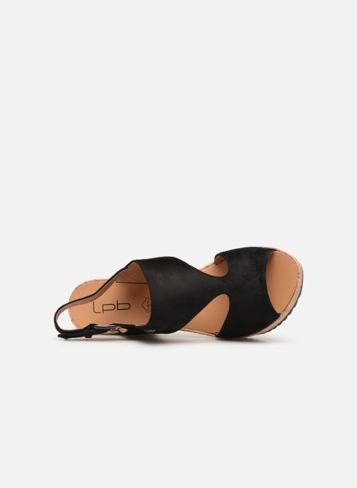 Sandales et nu-pieds Les P'tites Bombes JACINTHE Noir vue gauche