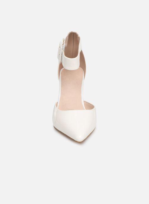 Escarpins Les P'tites Bombes JENNY Blanc vue portées chaussures