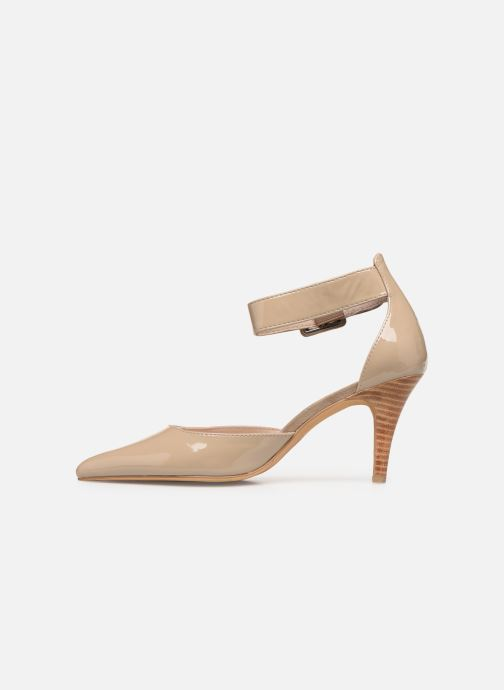 High heels Les P'tites Bombes JENNY Beige front view