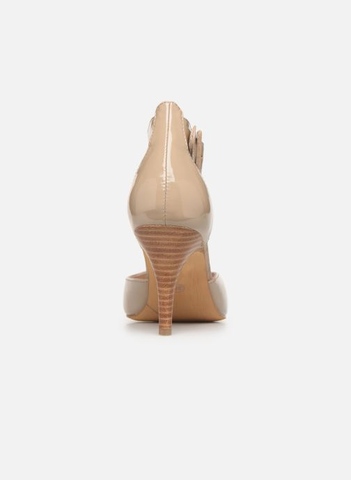 High heels Les P'tites Bombes JENNY Beige view from the right