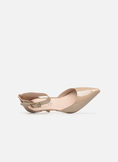 High heels Les P'tites Bombes JENNY Beige view from the left