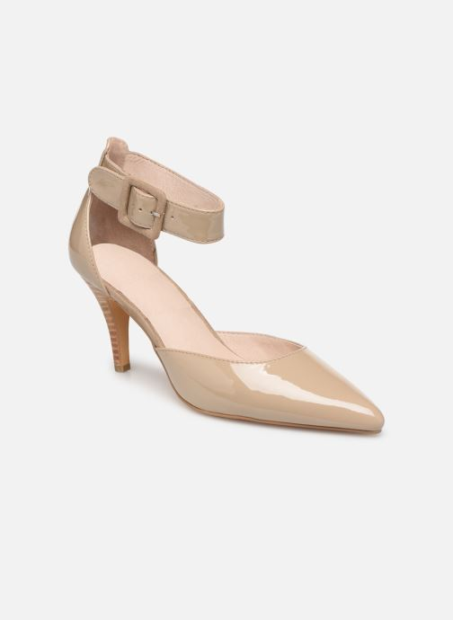 High heels Les P'tites Bombes JENNY Beige detailed view/ Pair view