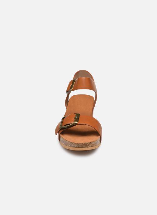 Sandaler Les P'tites Bombes MARIELLE Brun se skoene på