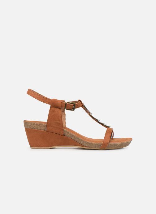 Sandales et nu-pieds Les P'tites Bombes MILA Marron vue derrière