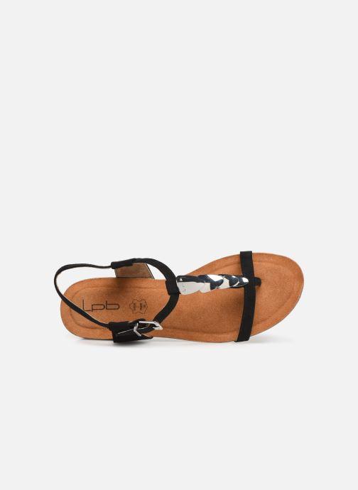 Sandales et nu-pieds Les P'tites Bombes MILA Noir vue gauche